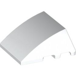 White Wedge 4 x 3 No Studs - used