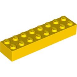 Yellow Brick 2 x 8
