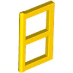 Yellow Pane for Window 1 x 2 x 3 - used