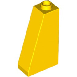 Yellow Slope 75 2 x 1 x 3 - Open Stud - used