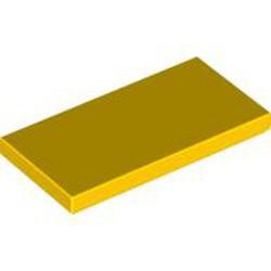 Yellow Tile 2 x 4 - new