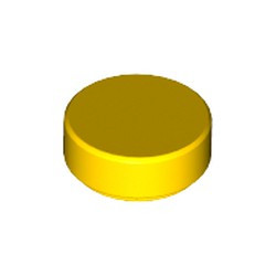 Yellow Tile, Round 1 x 1 - new