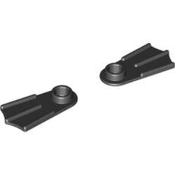 Black Minifigure Footgear Flipper