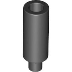 Black Minifigure, Utensil Candle - new