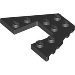 Black Wedge, Plate 4 x 6 - used