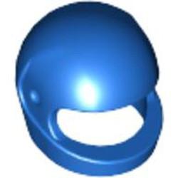 Blue Minifigure, Headgear Helmet Motorcycle (Standard) - used