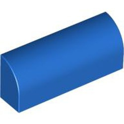 Blue Slope, Curved 1 x 4 x 1 1/3 - new