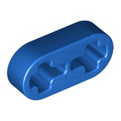 Blue Technic, Liftarm 1 x 2 Thin - used