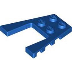 Blue Wedge, Plate 4 x 4
