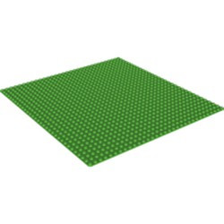 Bright Green Baseplate 32 x 32 - used