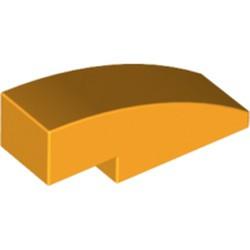 Bright Light Orange Slope, Curved 3 x 1 - used