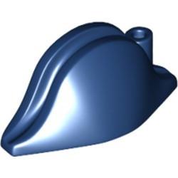 Dark Blue Minifigure, Headgear Hat, Pirate Bicorne Plain - used