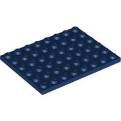Dark Blue Plate 6 x 8 - used