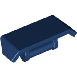 Dark Blue Vehicle, Spoiler 2 x 4 with Bar Handle - new