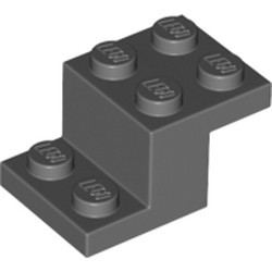 Dark Bluish Gray Bracket 3 x 2 x 1 1/3 - used