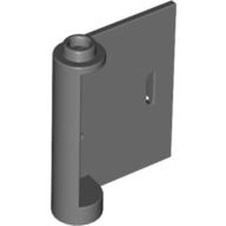 Dark Bluish Gray Door 1 x 3 x 3 Right - Open Between Top and Bottom Hinge - used