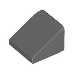Dark Bluish Gray Slope 30 1 x 1 x 2/3 - new