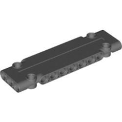 Dark Bluish Gray Technic, Panel Plate 3 x 11 x 1