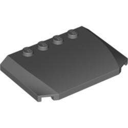 Dark Bluish Gray Wedge 4 x 6 x 2/3 Triple Curved - new