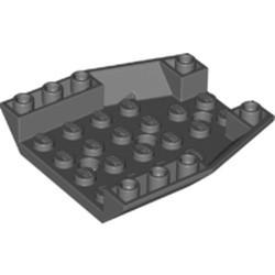 Dark Bluish Gray Wedge 6 x 6 Triple Inverted