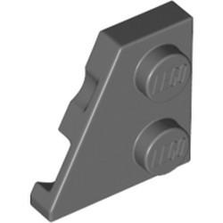 Dark Bluish Gray Wedge, Plate 2 x 2 Left - new