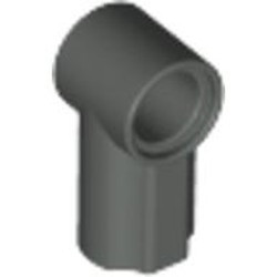Dark Gray Technic, Axle and Pin Connector Angled #1 - used
