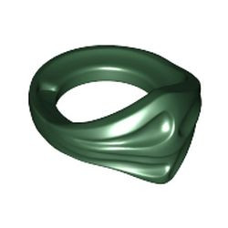 Dark Green Minifigure Bandana Ninja
