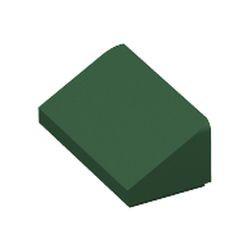 Dark Green Slope 30 1 x 2 x 2/3