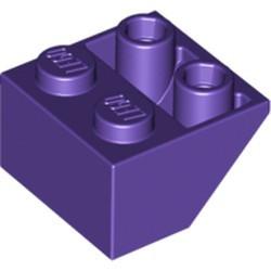 Dark Purple Slope, Inverted 45 2 x 2