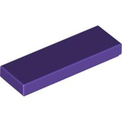 Dark Purple Tile 1 x 3 - new