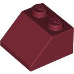 Dark Red Slope 45 2 x 2