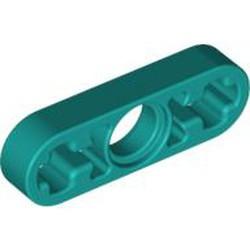 Dark Turquoise Technic, Liftarm Thin 1 x 3 - Axle Holes