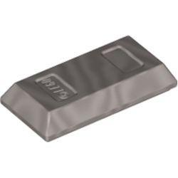 Flat Silver Minifigure, Utensil Ingot / Bar
