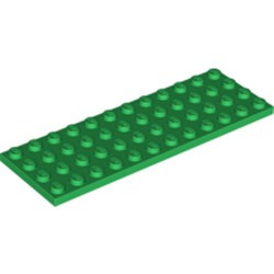 Green Plate 4 x 12 - used