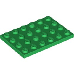 Green Plate 4 x 6