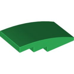 Green Slope, Curved 4 x 2