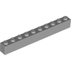 Light Bluish Gray Brick 1 x 10