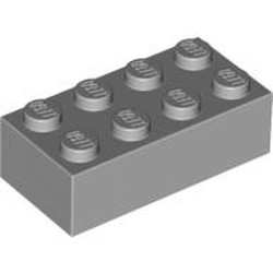 Light Bluish Gray Brick 2 x 4