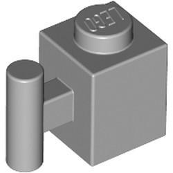 Light Bluish Gray Brick, Modified 1 x 1 with Bar Handle - new