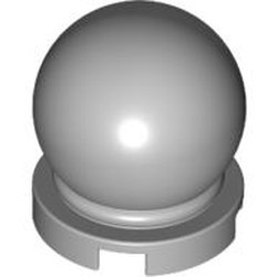 Light Bluish Gray Minifigure, Utensil Crystal Ball Globe 2 x 2 x 2