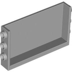 Light Bluish Gray Panel 1 x 6 x 3 with Studs on Sides