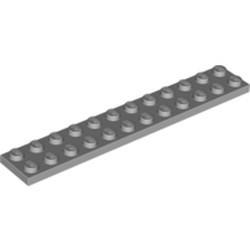 Light Bluish Gray Plate 2 x 12 - new