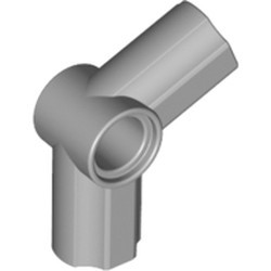 Light Bluish Gray Technic, Axle and Pin Connector Angled #5 - 112.5 degrees