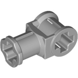 Light Bluish Gray Technic, Axle Connector with Axle Hole