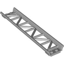 Light Bluish Gray Train, Track Roller Coaster Straight 16L