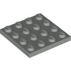 Light Gray Plate 4 x 4