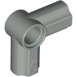Light Gray Technic, Axle and Pin Connector Angled #6 - 90 degrees
