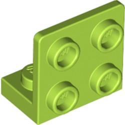Lime Bracket 1 x 2 - 2 x 2 Inverted - used
