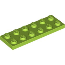 Lime Plate 2 x 6