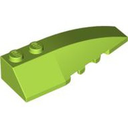 Lime Wedge 6 x 2 Right